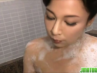 Japanese milf Mai Itou pleases naughty voyeur