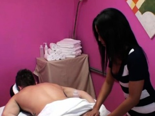 Little asian beau knows how to feel sorry a customer pleased