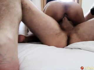 Morning fuck n suck with hot little Filipina
