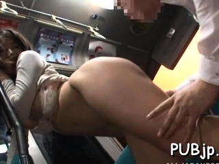 Horny pretty bitch gets a sexy ride