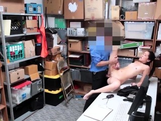 Two girls in along to tryst and men blowjob LP officer rushed